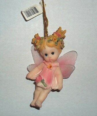 PINK BABY FLOWER FAIRY HANGING ORNAMENT~So Precious New