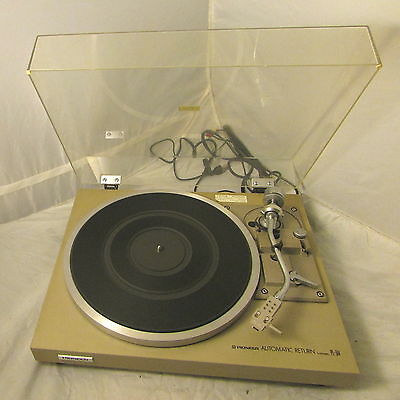 Vintage PIONEER TURNTABLE ~ Model # PL-514 - NEW BELT - AT88E Cartridge & Stylus