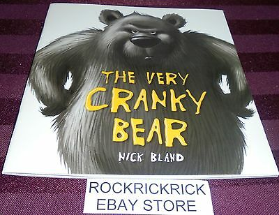 The Very Cranky Bear Book (Nick Bland) -21 Page Small Book- (2017) Brand New