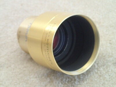 Isco 75mm f2 Cinelux Ultra MC Projection Lens Made in Germany Rough