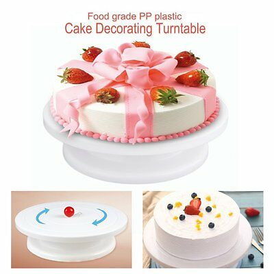 Cake Decoration Turntable Practical Table Rotating Disc Non-Slip Baking Tool RAU