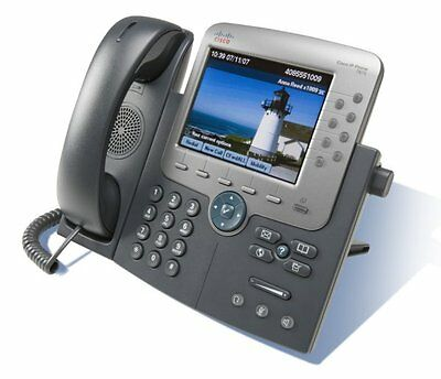 Cisco 7975 Unified IP Phone CP-7975G VoIP Business Handset PoE LCD Giga Ethernet