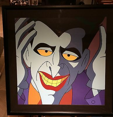 "Warner Bros Batman Animated Joker ""Mask Of The Phantasm"" Limited Huge Art Litho"