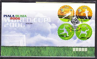 Indonesia 2006 - World Cup Football First Day Cover