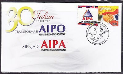 Indonesia 2007 - 30th Anniversary AIPA First Day Cover