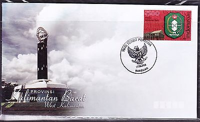 Indonesia 2008 - Provinces - Kalimantan Barat First Day Cover
