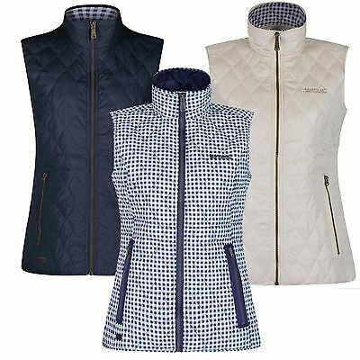 Regatta Ladies Gilet Cosmia Smart Lightly Quilted Waistcoat Print Lined £24.49