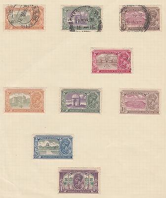 India KGV Mounted Mint / Used Selection per scans