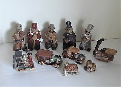 Tremar Pottery Figures+Cars+Engines+Buildings+Other