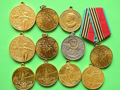 Lot of Commemorative and Award medals of the USSR