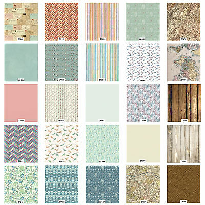 Craft Consortium Decoupage Printed Paper Pack of 3