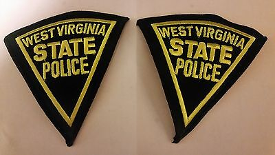West Virginia State Police Patch Set