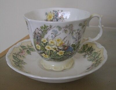 Royal Doulton Brambly Hedge Cup And Saucer Spring Full Size