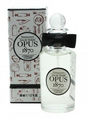 Penhaligon's Opus 1870 Eau De Toilette 50Ml Spray - Men's For Him. New