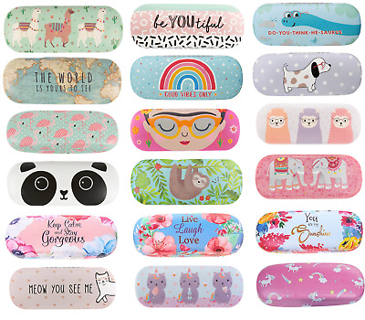 Floral Reading Spectacle Glasses Case Sunglasses Storage Hard Case Glasses Cases