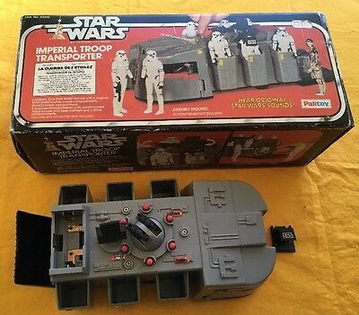 Vintage Star Wars Boxed Palitoy Imperial Troop Transporter No.33342 1979