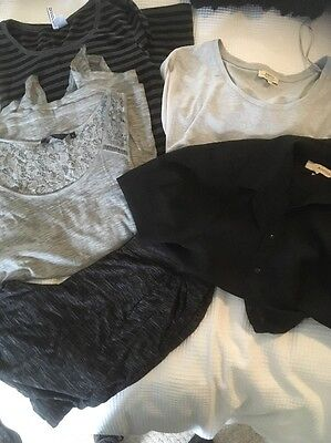 ladies bundle size 12 Anmol New look Papaya H&m 5 Items Grey Black