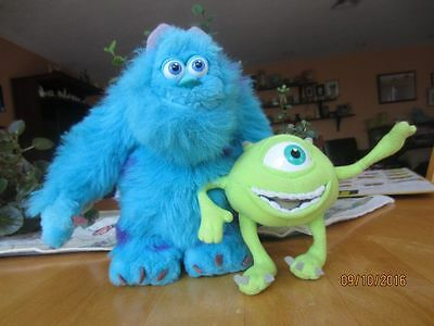 Disney Pixar Monster Inc.  Sulley and Mikey
