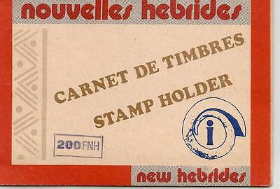 NEW HEBRIDES 4x 5FNH 4x 10 FNH COMPLETE UNUSED BOOKLET  REF 559