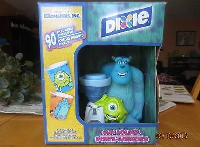 Disney Pixar Monster Inc. Dixie Cup Holder w/ 90 Cups