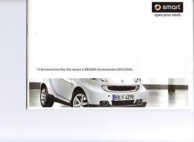 Smart  Accessories Including Brabus Sales Brochure August 2007  For  2008