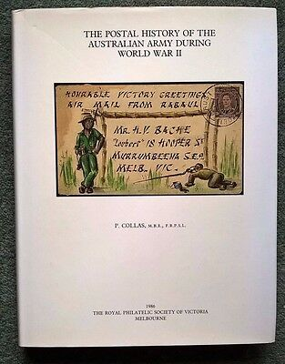 Postal History of the Australian Army During World War II Military Covers Pmks