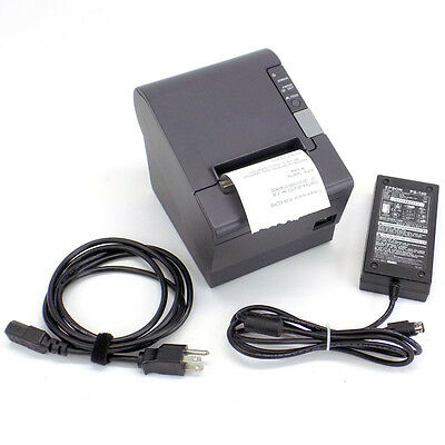 Epson TM-T88IV M129H POS USB Thermal Receipt Printer with AC Power Adapter