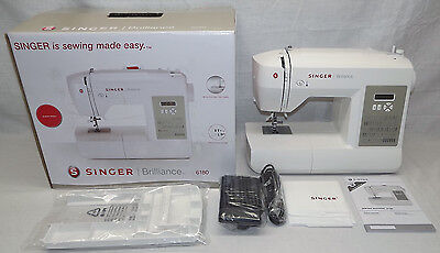 Singer Brilliance 6180 Sewing Machine With Extension Table - New / Unused