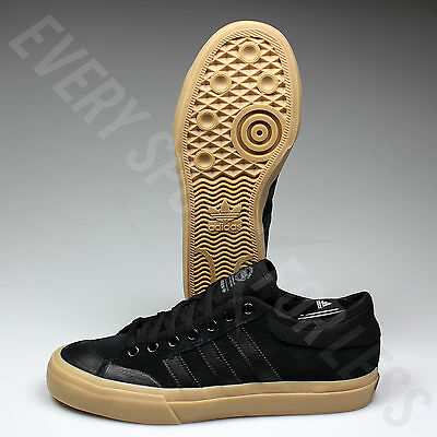 Adidas Matchcourt ADV Skateboard Shoes - B27329 - Black/Black/Gum(NEW)Lists@$130