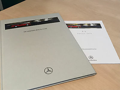 1996 Mercedes-Benz SL Class Hardback Sales Brochure and Price List