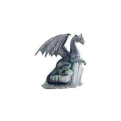 Winter Dragon on Ice Fantasy Figurine Decoration Decor Collectible New