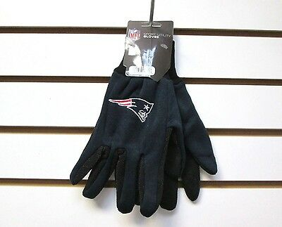 Brand New Nfl New England Patriots Embroidered Team Work Sport Utility Gloves