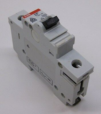 ABB S261-B6 Mini Circuit Breaker, 1-Pole, 6A, Type B