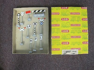 LGB G Gauge Lot of Signs and Figures