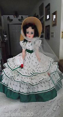 "Gone With the Wind~ 21"" SCARLETT O'HARA DOLL ~ Made By: Madame Alexander In 1991"