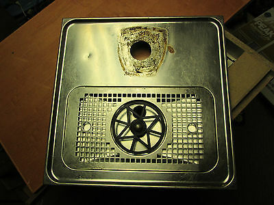 Celli Stainless Steel Drip Tray Washer Bar Beer Glass Rinser 15x15 Celspray PRO