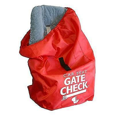 JL Childress Gate Check Bag for Car Seats, Red New