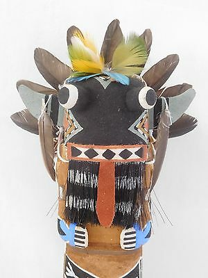 "Awesome Old Style Hopi Indian ""broadface"" Kachina By Award Winning Brian Holmes"