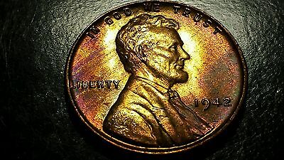 Lot Of 3 Lincoln Wheat Cent Coins..1942P 1942D 1942S