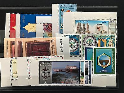 Qatar New Issues,good Selection Of Xf Mint Never Hinged Sets, Singles