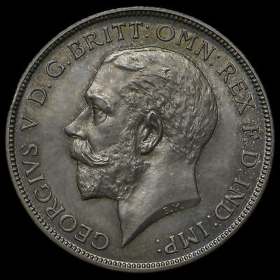 1911 George V Silver Proof Florin