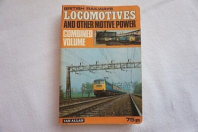 Locomotives Motive Power Combined Volume Book Ian Allan 1972 Unused
