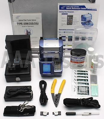 Sumitomo Type-25M Ribbon & Single Fiber Fusion Splicer Type25 Type 25M