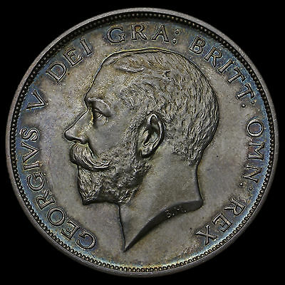 1911 George V Silver Proof Half Crown