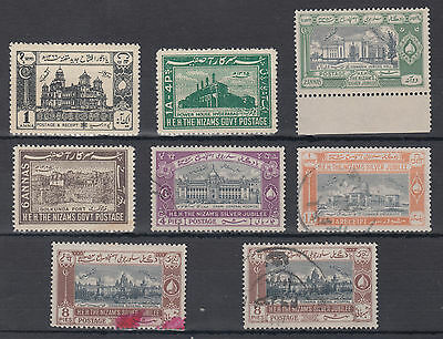 Hyderabad MNH/ MM/ Used Selection; see both scans; India