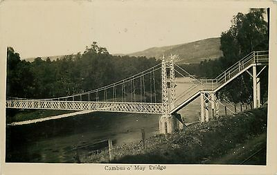 p0724 Cambus o May Bridge, Scotland postcard RP