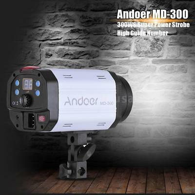 Andoer MD-300 300WS Studio Photo Strobe Flash Photography Light Modeling Lamp