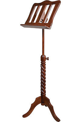 New ROOSEBECK SINGLE TRAY SPIRAL MUSIC STAND