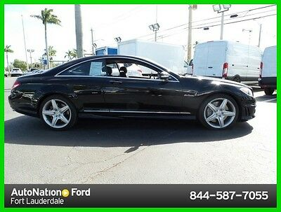 2009 Mercedes-Benz CL-Class CL63 AMG® 2009 CL63 AMG Used 6.2L V8 32V Automatic Rear Wheel Drive Coupe Premium