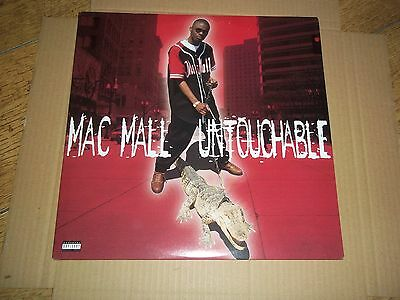 mac mall 'untouchable'1996 US import vinyl EX/EX+ 'gangsta'west coast.rap hiphop